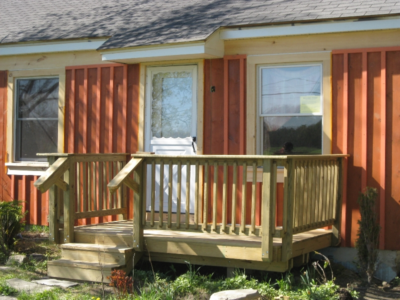 How To Build A Deck On A Budget Back Yard